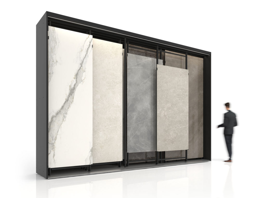 Maxi Tiles, the classic large format tile display