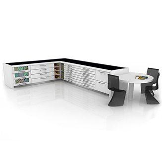 Banco técnico de trabajo Composition 110