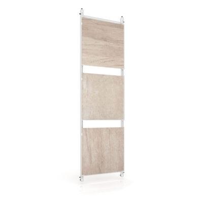 Rack tile display Panel extensible