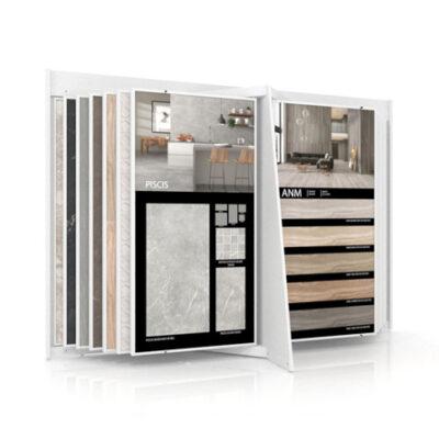 Expositor de cerámica Book XL 24+2 para azulejos de gran formato