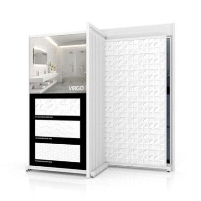 Expositor de azulejos Open XL 12+2 para pavimentos y revestimientos de gran formato