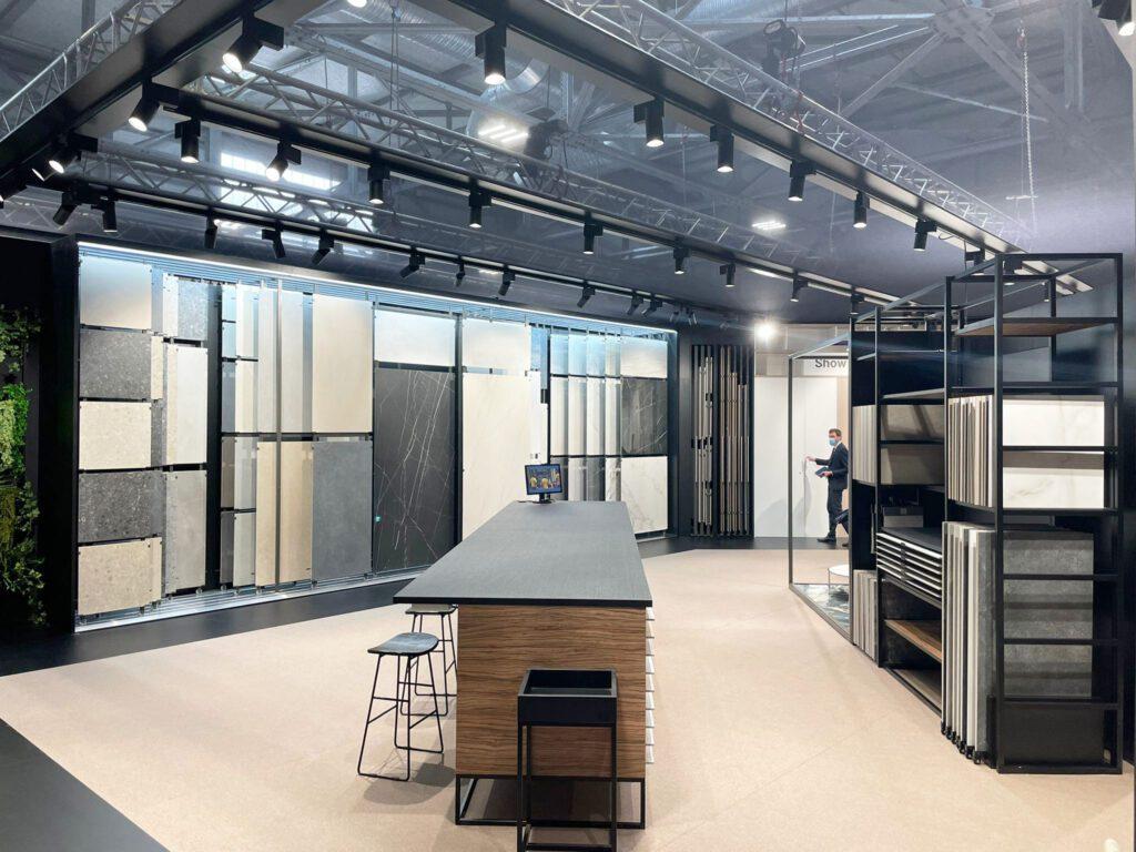 Imagen del estand de INSCA EN Cersaie